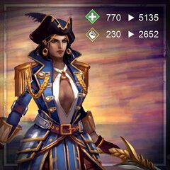 Artwork of Captain Isabela in <i><a href=