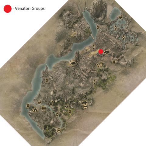 The Venatori Groups in the Exalted Plains
