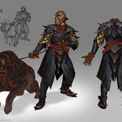 Dragon armor concept