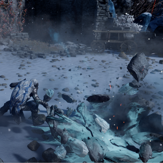 Korth's Might with Ice Smash