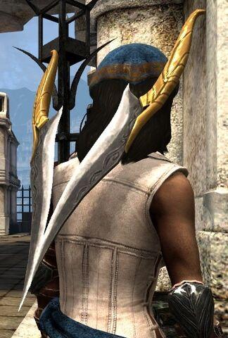 File:DA2 Backstabber - Heartbreaker - Arm of Adruil - daggers.jpg