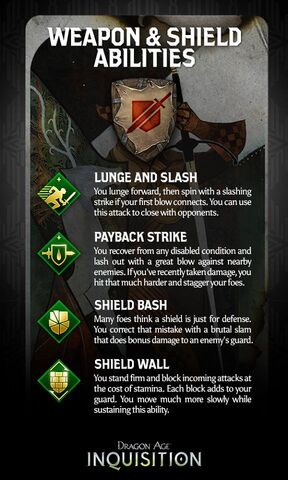 Weapon & Shield abilities promo