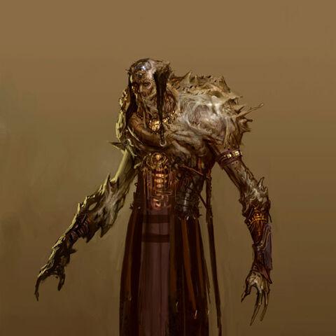 Concept art for <i>Dragon Age: Origins</i>