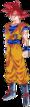 Super Saiyan God Goku clear