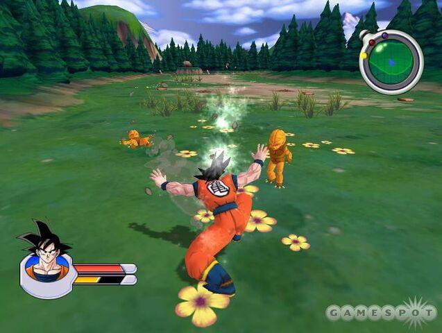 File:Goku Saibamen Sagas.jpg