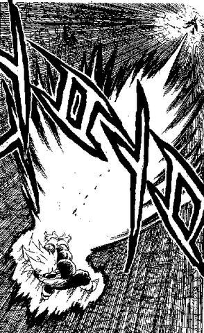 File:DBZ Manga Chapter 384 - Vegeta Final Flash 5.png