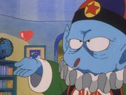 Pilaf blowning a kiss