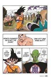 Goku faces King Piccolo