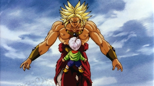 File:Super Saiyan Brolly confront Kid Trunks.jpg