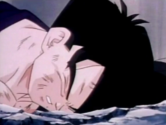 File:Gohan fells to ground dead and defeated after being killed by turles in plan to eadacte the saiyans6.png