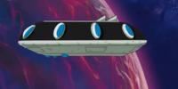 Chilled's spaceship