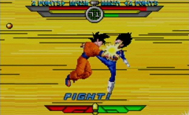 File:Goku Vegeta fighting Taiketsu.jpg