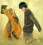 File:Naruto and Lee by orin.jpg