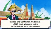 World Tournament Announcer Cutscene Another Road
