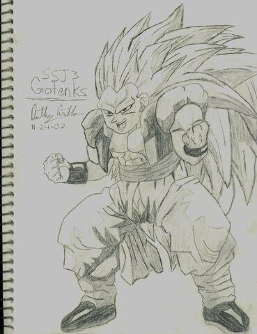 File:Gotenks SSJ3 Drawing.jpg