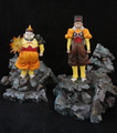 Android 19 Dr. Gero statues