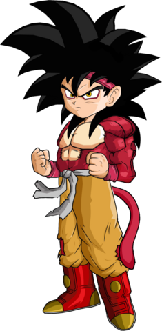 File:Goku Jr SSJ4 by SpongeBoss-1-.png