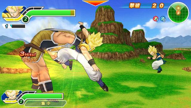 File:DBZ TTT Gogeta SSJ about to kick Nappa.jpg