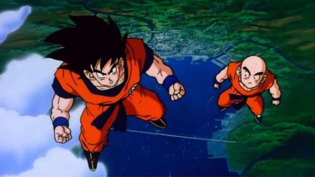 File:Goku And Krillin DBZ Movie04 Lord Slug.JPG