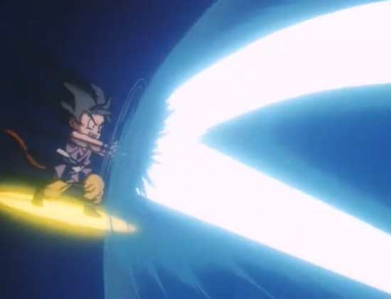 File:TRCF - Goku reflects.PNG