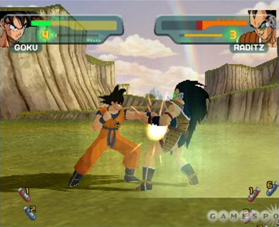 File:Goku Raditz Budokai 5.jpg