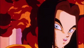 Android 17 Apologizing for killing a man that 18 spared