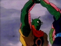 Slug grabs piccolo