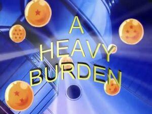 A Heavy Burden