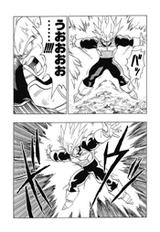 DBZ Manga Chapter 384 - Vegeta Final Flash