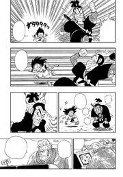Goku wins the race much to Ninja Murasaki anger and General White's annoyance