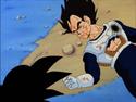 Vegeta's death