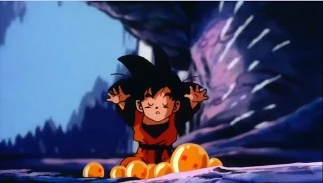 File:Goten trying to summit shenron.png