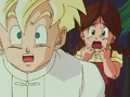 Gohan and Lime horrified