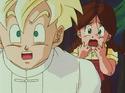 Gohan and Lime horrified