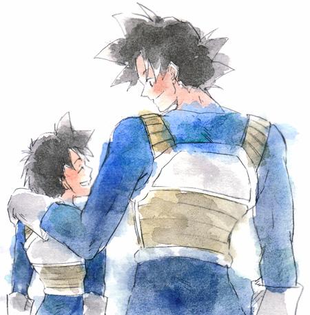 File:Goku Gohan Fanart.jpg