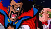 Mr Satan & XS Cash (DBZ Film - Bojack Unbound) Miracle Knee dbzm9-45