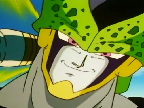 File:Cell overwhelms Vegeta.png