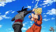 Super saiyan 2 Goku vs Black
