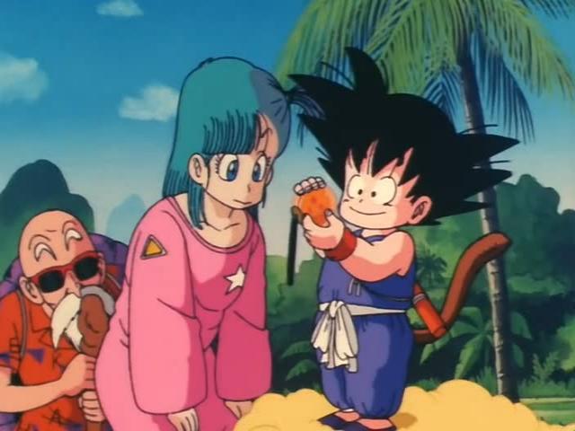 File:Goku and bulma with the 3 star ball.jpg