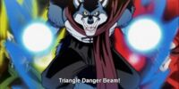 Triangle Danger Beam