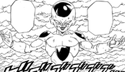 Frieza transforms manga