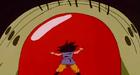 Mouma attacks goku