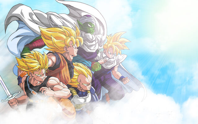 File:731 - dragonball gohan goku piccoro trunks vegeta wallpaper.jpg