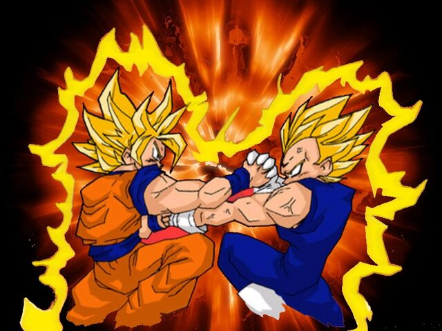 File:Goku vs Vegeta by Dylanmt3.jpg