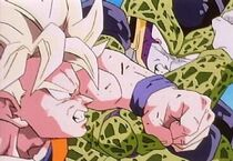 Goku vs cell p