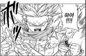Trunks Powers up to Super Saiyan 2