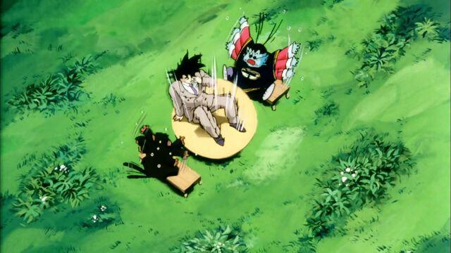 File:Goku Surprising King Kai.jpg