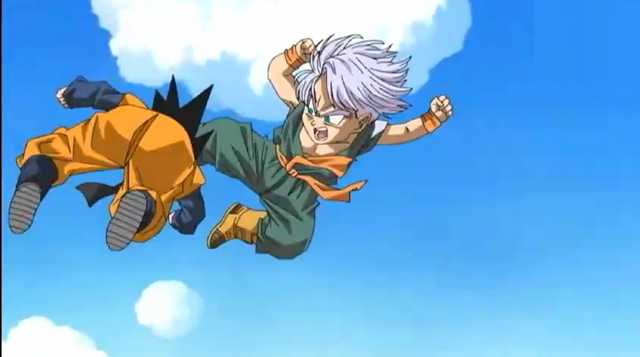 File:Trunks kicks goten.png