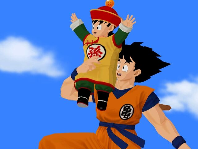File:Goku Gohan Budokai.jpg