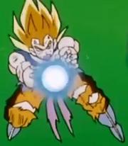 SS Goku Kamehameha in Gohan Returns